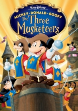 Три мушкетера. Микки, Дональд, Гуфи